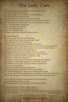So true....made me cry.