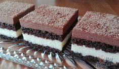 Kakaové těsto, čokoládová nádivka a vanilková nádivka. Jednoduché a tak fantasticky chutné! Autor: Triniti Tiramisu, Food And Drink, Cake, Ethnic Recipes, Author, Kuchen, Tiramisu Cake, Torte, Cookies