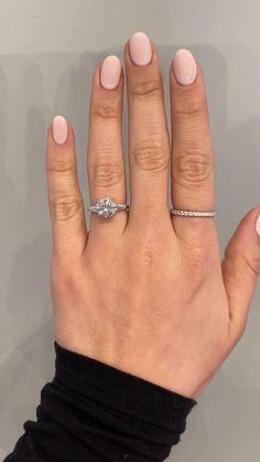 Jia is the perfect example of class and elegance in a three stone. We sourced a 2 carat brilliant round diamond and two tapered baguettes for our client and secured them with soft, curved edges that give the design constant flow and a beautiful look. #uniqueengagementring #customengagementring #2carat #twocarat #engagementringideas #engagementringinspo #engagementringinspiration #threestonering #3stonering #labgrowndiamond #recycledmetal #kenanddanadesign Engagement Ring Shapes, Three Stone Engagement Rings, Diamond Engagement Rings, Lab Created Diamond Rings, Lab Created Diamonds, Wedding Nails, Wedding Rings, Bridal Rings, Ken And Dana Designs