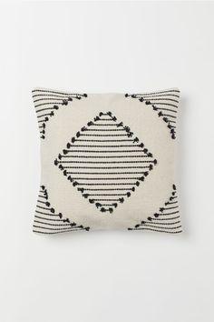 Putetrekk i bomull - Lys beige/Mønstret - Home All Boho Diy, Boho Decor, H & M Home, Boho Cushions, Bohemian Pillows, H&m Gifts, Light Beige, Linen Bedding, Home