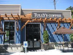 Tully's Coffee on Airport Way in Seattle