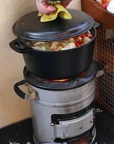 EcoZoom Raketenofen. Für zwei Tage gekocht. Rice Cooker, Kitchen Appliances, Cooking, Diy Kitchen Appliances, Home Appliances, Domestic Appliances