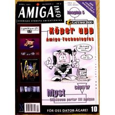 Amiga magazine from Swedish. With news about Gateway 2000 buying up Amiga tech. Magazines, Retro Vintage, Cow, Tech, Stuff To Buy, Journals, Cattle, Technology