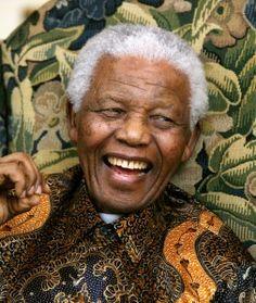 Nelson Rolihlahla Mandela (Mvezo, 18 de julho de 1918 — Joanesburgo, 5 de dezembro de 2013) foi um advogado, líder rebelde e presidente da África do Sul de 1994 a 1999, considerado como o mais importante líder da África Negra, ganhador do Prêmio Nobel da Paz de 1993,1 e pai da moderna nação sul-africana