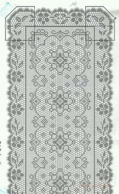 "Challah Cover - ""Shabbat Kodesh"" (14x20"") | Challah, Filet Crochet ..."