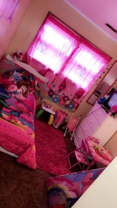 Creating a Princess Themed Bedroom For Your Little Girl. As finishing touches, you can add shelves, toys, throw pillows and storage for toys and other items your children like to keep in their room Little Girl Bedrooms, Girls Bedroom, Little Girls, Room Girls, Girl Rooms, Kids Room, Girl Bedroom Designs, Room Ideas Bedroom, Bedroom Themes