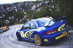 Richard Burns Subaru