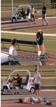 when I go running.......