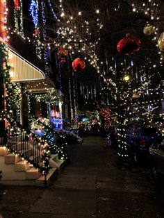 The Miracle on South 13th Street: South Philadelphia's 13th Street Christmas Lights - recognized as one of the best decorated neighborhoods in the country!