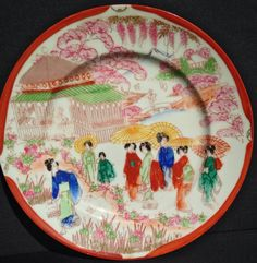 Vintage Asian Inspired Collectable Decorative by ClevelandFinds