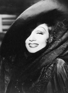 Marlene Dietrich- epitome of 1930's glamour