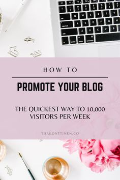 How to promote your blog: The quickest way to 10,000 visitors per week I Tiia Konttinen I Tips how to increase your blog traffic, how to get visitors, how to increase your following, how to grow your blog traffic #blog #blogging #blogtraffic #blogtips #tiiakonttinen Make Money Blogging, How To Make Money, How To Get, Best Workout Routine, Keyword Planner, Blog Names, Blog Topics, Creating A Blog, Blogging For Beginners