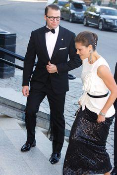 Princess Victoria Photos - Swedish Government Dinner To Celebrate King Carl Gustaf's 40th Jubilee - Zimbio