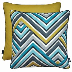 Rocco Interiors | Zig Zag Zest Cushion