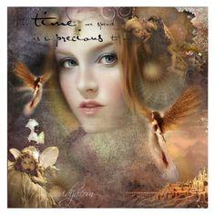 """Fairy world"" by ovidija ❤ liked on Polyvore featuring art"