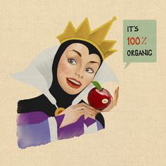 Evil Queen Apple Company (Series of Artwork and Graphic Design by Femmy Priscillya Antolinez)
