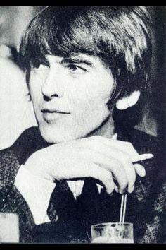 George Harrison (I usually don't repin photos of him smoking but this one spoke to me. It's all in his eyes)