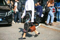 Milan Fashion Week: lo street style