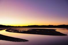 Halbinsel in den Bay of Islands, Paihia, Neuseeland