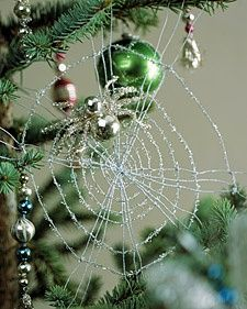 Ukrainian Christmas spider ornament - pretty, but not on my ...