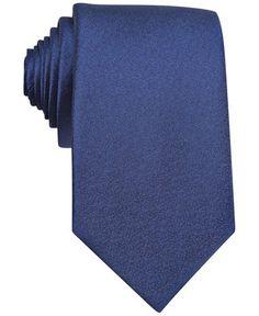 Bar III Sable Solid Tie - Ties & Pocket Squares - Men - Macy's