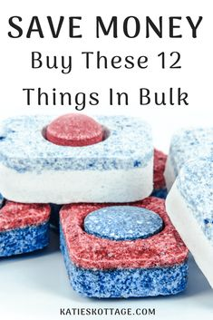 The 12 things I buy in bulk from Sam's Club to save money as a one income family.