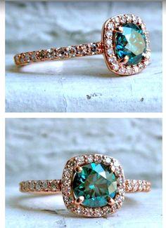 Gorgeous engagement ring ❤️❤️ #DazzlingDiamondEngagementRings
