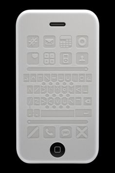 Tactile Silicon Case for visually impaired