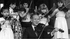 In post-WW2 Japan, Shinichi Suzuki devised a new method of teaching the violin.