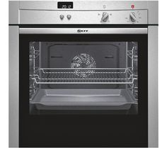 Buy Neff Slide and Hide Pyrolytic Single Electric Oven, Stainless Steel from our Built in Ovens range at John Lewis & Partners. Free Delivery on orders over Built In Electric Oven, Single Electric Oven, Single Oven, Stainless Steel Oven, Built In Ovens, Oven Range, Herd, New Kitchen, Kitchen Ideas