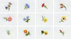 December IEC: Little Flower Embroidery Designs - Martha Pullen