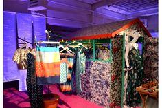 OASIS SPRING SUMMER 2014 PRESS EVENT SET DESIGN BY PETRA STORRS
