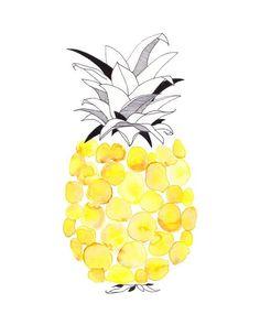 Pineapple #yellow