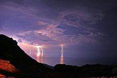 tempesta di lampi