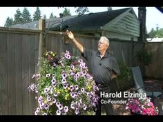 """Hanging """"Basket Booster Self Watering Systems"""" [hmmm]"""