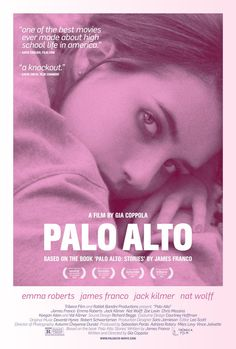 Watch the movie trailer for Palo Alto Directed by Gia Coppola and starring Emma Roberts, James Franco, Jack Kilmer and Nat Wolff. A dark drama centered on a group of teens with a penchant for finding trouble. Nat Wolff, Val Kilmer, James Franco, Hd Movies, Movies To Watch, Movies Online, Movie Tv, Best Indie Movies, Trek Movie
