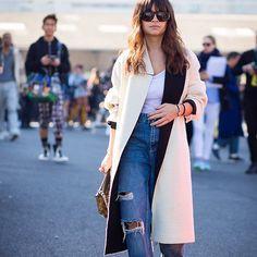 #New on #STYLEDUMONDE  http://www.styledumonde.com  with @miraduma #MiroslavaDuma #MiraDuma at #paris #fashionweek #pfw #outfit #ootd #streetstyle #streetfashion #streetchic #streetsnaps #fashion #mode #style