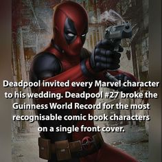 Deadpool Facts - Visit to grab an amazing super hero shirt now on sale!