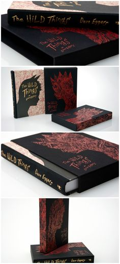 Taylor Box Company-  Custom Slipcase for Dave Eggar's 'The Wild Things'  #design #publishing #book #TheWildThings #DaveEggars #PowellsBooks