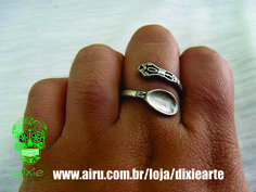 Anel Colher  www.airu.com.br/loja/dixiearte