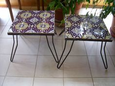 going to redo a couple wrought iron tables someday