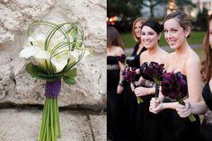 Brautjunfer Blumenstrauß lila Calla hochzeit 2013 weiß Brautstrauß ...