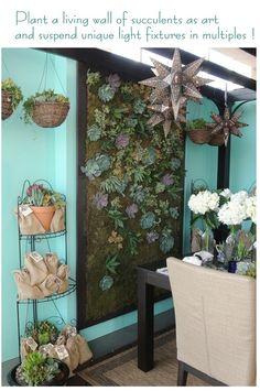 succulent wall art...
