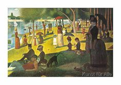 Georges Pierre Seurat - Sunday Afternoon 7734