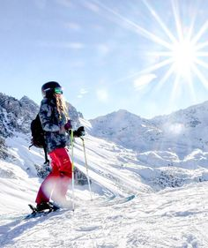 Your #winter #sport #activities #inspire us to create new #products.☀❄ credit to @marlenesleben #happy #smile #snow #sun #bluesky #skiing #mountains #laughingatthesun #snowplaza #getout #girlswhoski #winter #skithealps #munichmountaingirls #wonderfulwildwomen #mountaingirls #lifelooksbetter #staywarm #winter #wintergloves #actionheat #coldweather #cold #winterfashion #alpinestyle #clothes