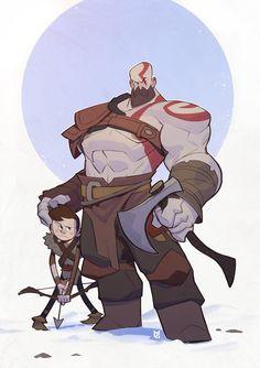 God of War Kratos by MaxGrecke.deviantart.com on @DeviantArt