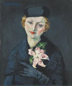 Kees van Dongen, LA FEMME À L'ORCHIDÉE