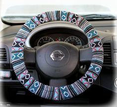 Steering-wheel-cover--wheel-car-accessories-Tribal-Steering-Wheel-Cover,
