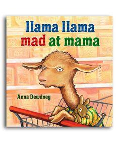 Loving this Llama Llama Mad at Mama Hardcover on #zulily! #zulilyfinds