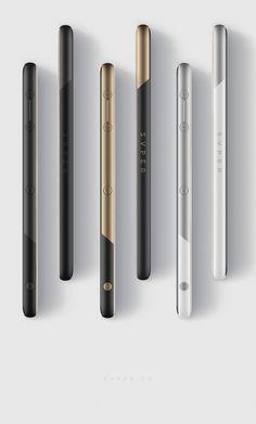 SVPER phone / ID + UI Smartphone Concept on Behance